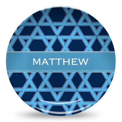 Microwave Safe Dinnerware Plate-Star of David
