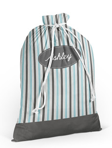 Laundry Bag- Beach Stripe