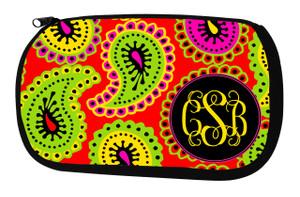 Cosmetic Bag-Groovy Paisley