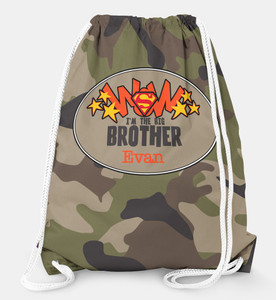 Drawstring Backpack-Big Brother