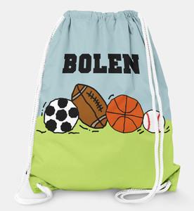 Drawstring Backpack- Sports Fan