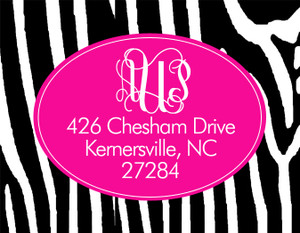 Address Stickers - Zebra