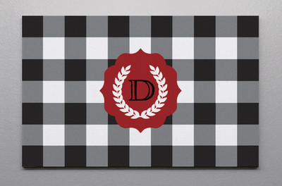 Canvas Wall Art-Buffalo Plaid