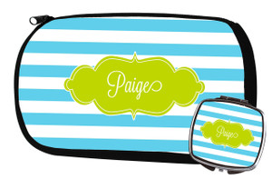 Cosmetic Bag-Blue Lagoon