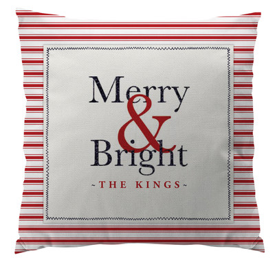 Pillows - Merry & Bright Red