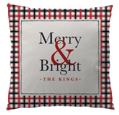 Pillows - Merry & Bright Plaid