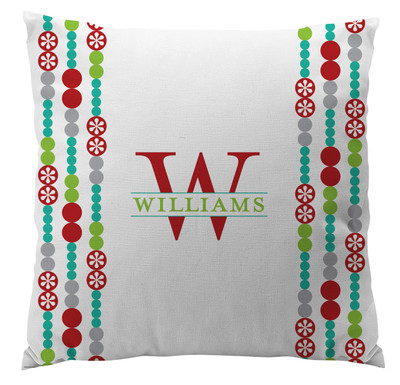 Pillows - Holiday Dot with White