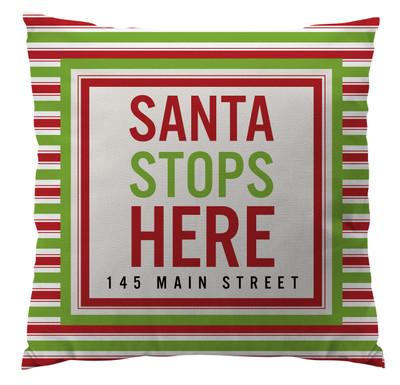 Pillows - Santa Stops Here