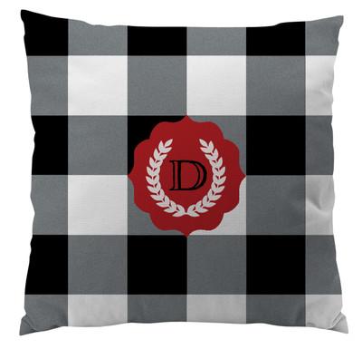 Pillows - Buffalo Plaid Black and White