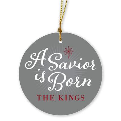 Ornaments - A Savior is Born