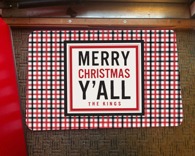 Doormat - Merry Christmas Y'all