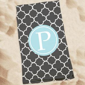 Beach Towel-Black Clover