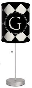Custom Lamp-Diamonds