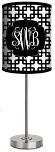 Custom Lamp-BW Bamboo