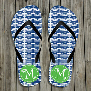 Flip Flops-Elinks Blue
