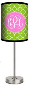 Custom Lamp-Lime Clover