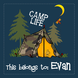 Stickers- Camp Life Tent