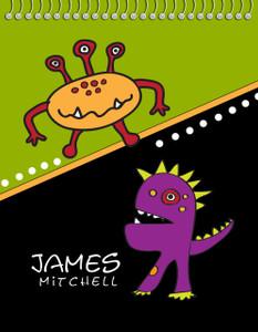 Flip N Doodle - Monsters