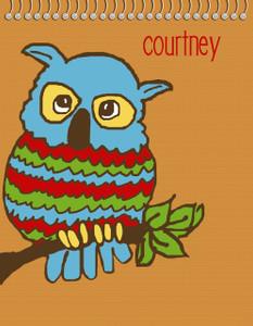Flip N Doodle - Owl
