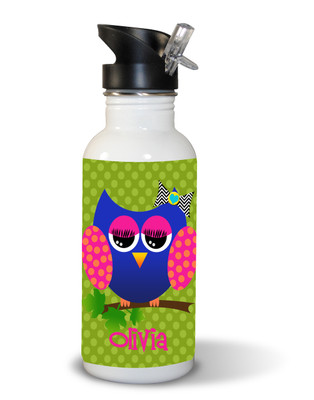 Waterbottle- Allie the Owl