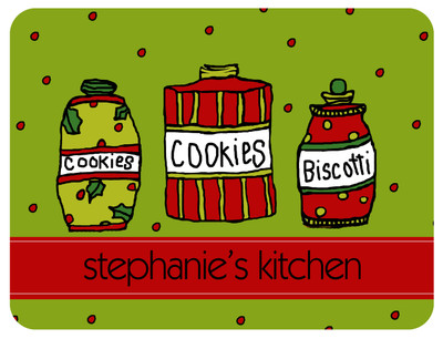Cutting Board - Holiday Cookies