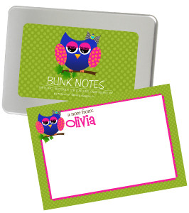 Bunk Notes-Allie the Owl