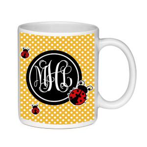 Coffee Mug-Lady Bugs