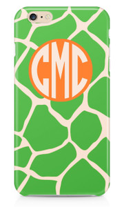 Hardcases-Green Apple Giraffe