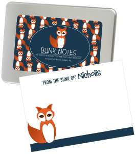 Bunk Notes-Fox
