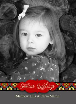 Holiday Photocard-Olivia