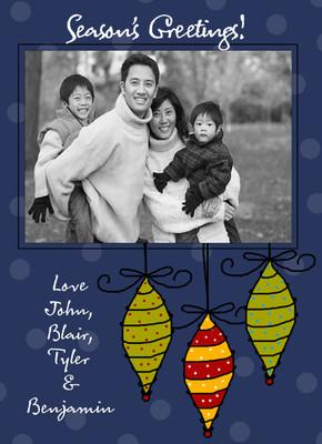 Holiday Photocard-Drop Drop Drop