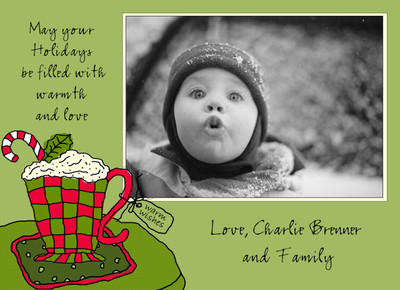 Holiday Photocard-Warm Wishes