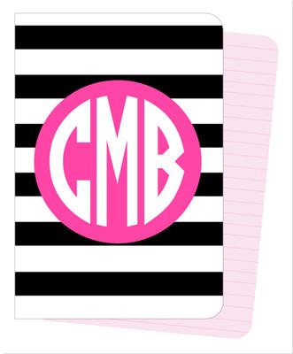 Mini Journals - BW Stripes