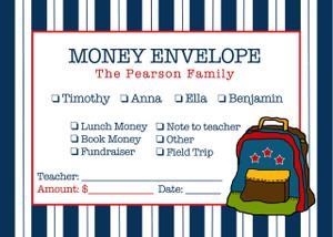 Money Envelopes - American Commerce