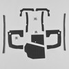 Mopar B Body 68 69 Coronet MEGA Splash Shield Set -Maual