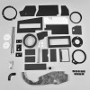 Mopar A Body 67-72 Body BIG AC Heater Box Rebuild Restoration Seal Gasket Kit