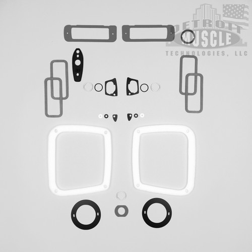 Mopar B Body 1969 69 Roadrunner Paint Exterior Gasket Set BASIC