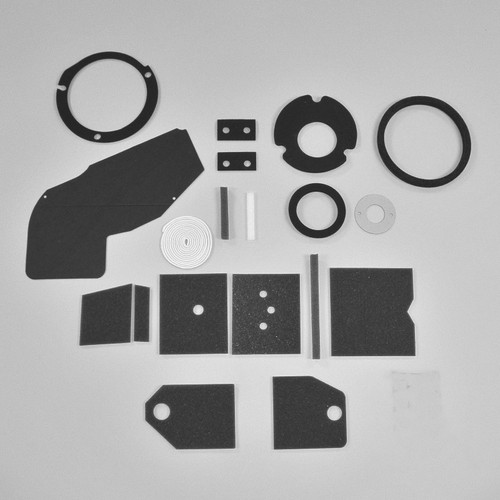 Mopar A Body 73-76 BASIC NON AC Heater Box Rebuild Restoration Seal Gasket Kit