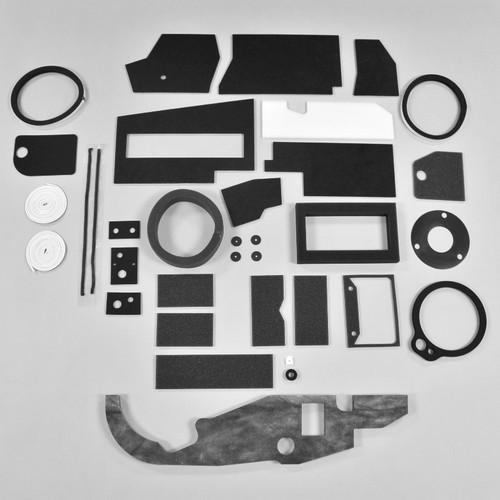 Mopar A Body 63-66 BASIC AC Heater Box Rebuild Restoration Seal Gasket Kit