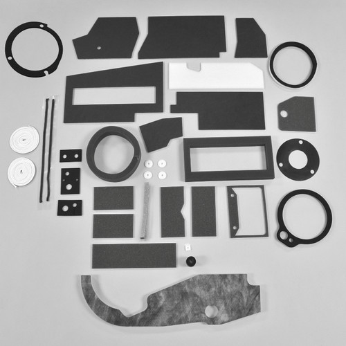Mopar A Body 67-72 Body BASIC AC Heater Box Rebuild Restoration Seal Gasket Kit