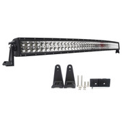 "288 Watt 50"" Double Row Curved LED Light Bar - Combo Beam 21,200 Lumens"