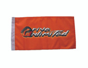 Drive Unlimited's Flag for LED Whip - Orange
