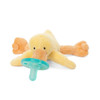 Wubbanub Yellow Baby Duck Pacifier | Ducks in the Window
