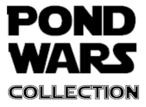 Pond Wars Collection of Rubber Ducks that glow in the dark