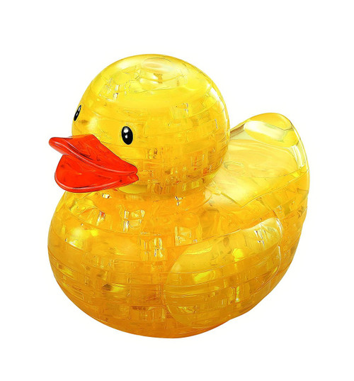 3D Crystal Yellow Duck Puzzle   Ducks in the Window