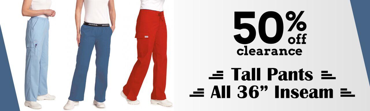 Tall Scrub Pants