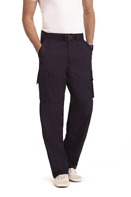 Mobb 409p Men Scrub Cargo Pants
