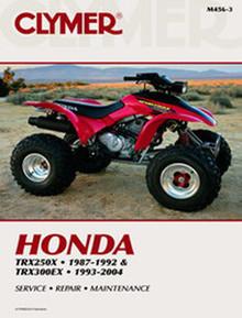 Honda ATV  Manual (Clymer)  TRX250X/300EX
