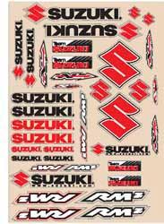 Decal kit N-Style Suzuki RMZ Off-Road New