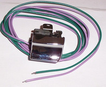Handlebar switch Chrome Right turn 82-95